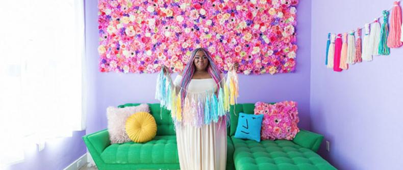 Deze vrouw heeft het meest kleurrijke huis ooit