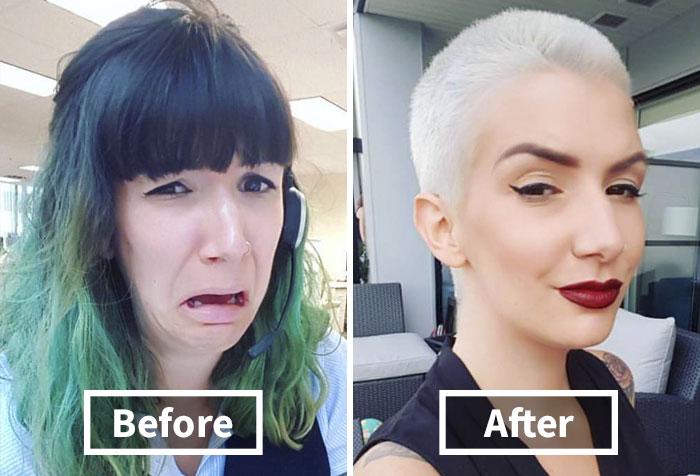 Door deze haarstijl transformaties wil jij direct naar de kapp...