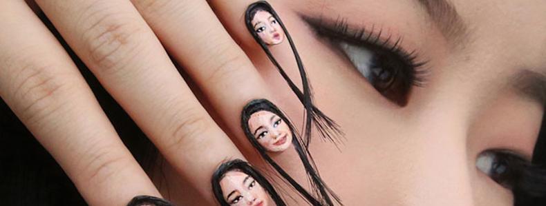 Zou jij jezelf op je nagels willen zien? #selfienagels