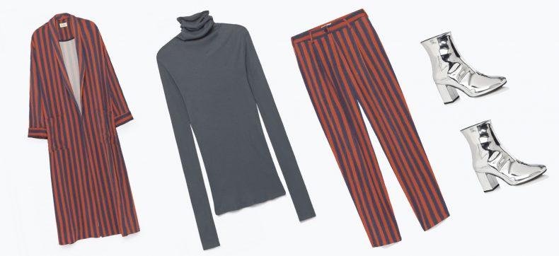 Mag níet ontbreken in je kast: het gestreepte pak