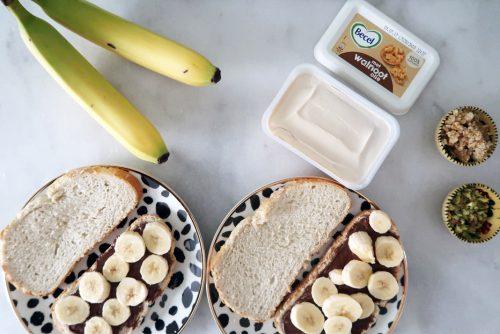 plakjes banaan