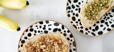 Recept: een goddelijke (vegan) tosti met Becel met walnootolie...