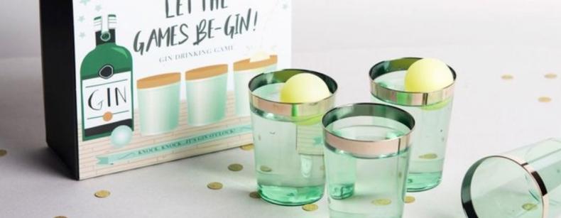 Iedereen wil dit spel spelen: Gin pong!