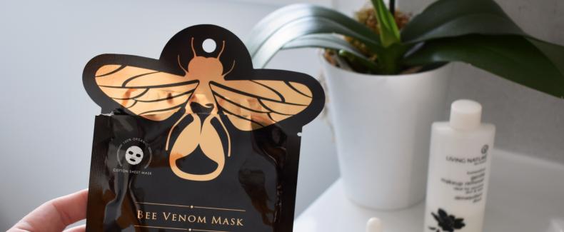Dit Bee Venom masker heelt je huid
