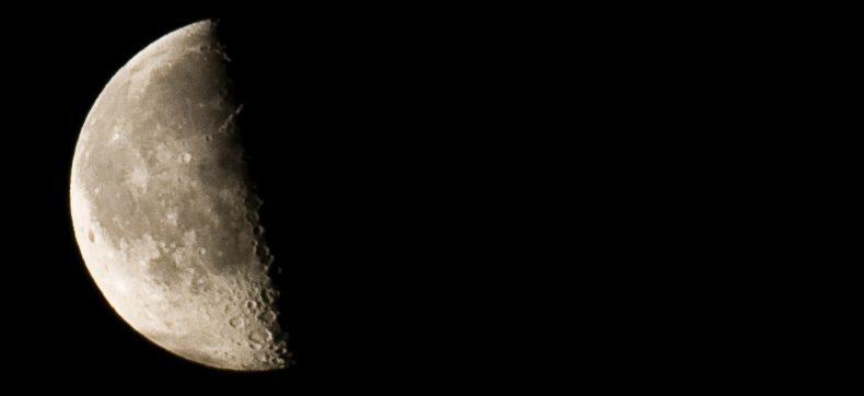 De maancyclus: het laatste kwartier
