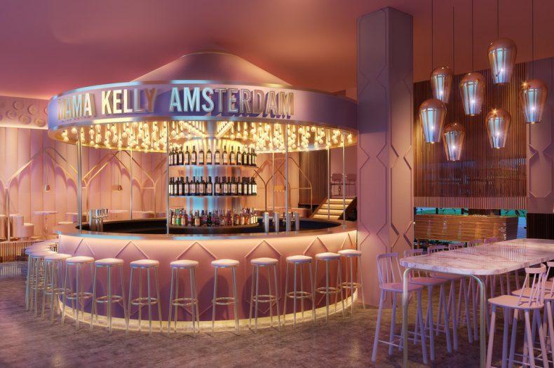 Instagram heaven: poederroze restaurant MaMa Kelly