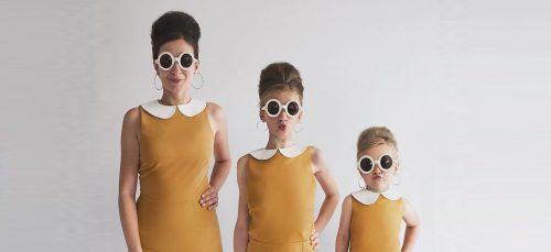 Moeder maakt de mooiste foto's met haar dochters in dezelfde o...