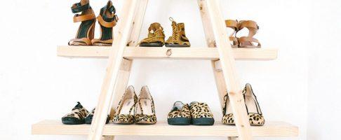 Do it yourself: maak dit fijne schoenenrek