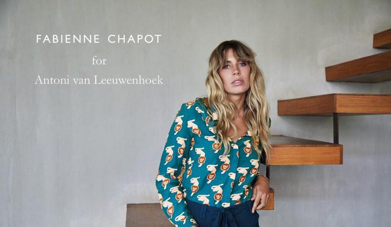 Fabienne Chapot ontwerpt collectie voor Antoni van Leeuwenhoek...