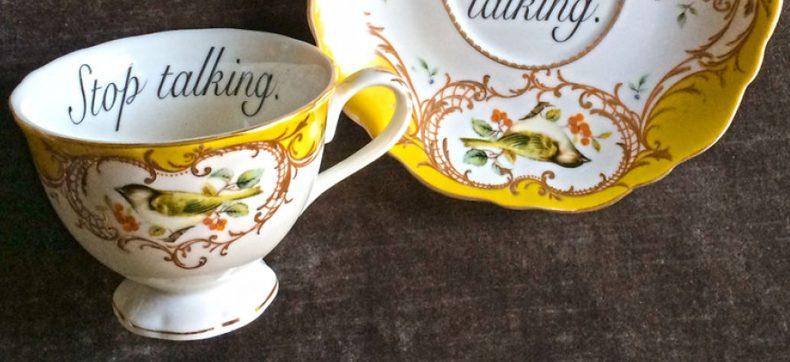 Delicate en huffterige theekopjes om jouw gasten in stijl te b...