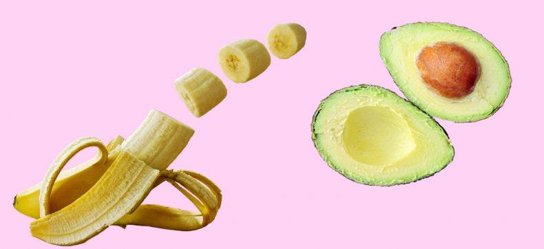 Bananen en avocado's zijn gezonder dan je denkt
