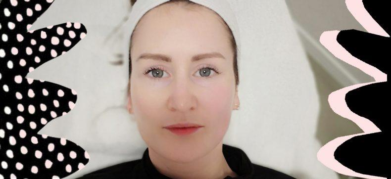 Een behandeling voor het gezicht bij de Bindweefsel Massage Bar