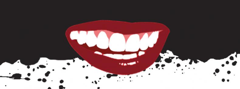 Actieve kool voor witte tanden