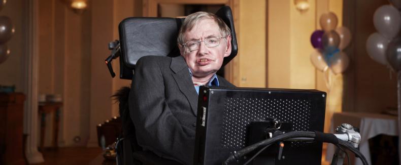 Stephen Hawking was naast natuurkundige een voorbeeld voor velen
