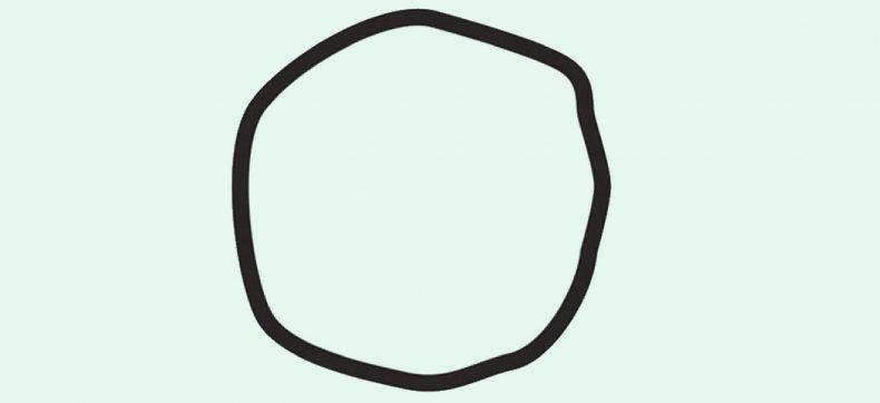 Zie jij een cirkel of niet?
