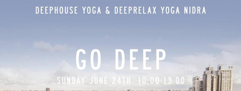 Deephouse Yoga en Yoga Nidra event