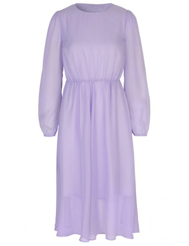 Paarse jurk €135