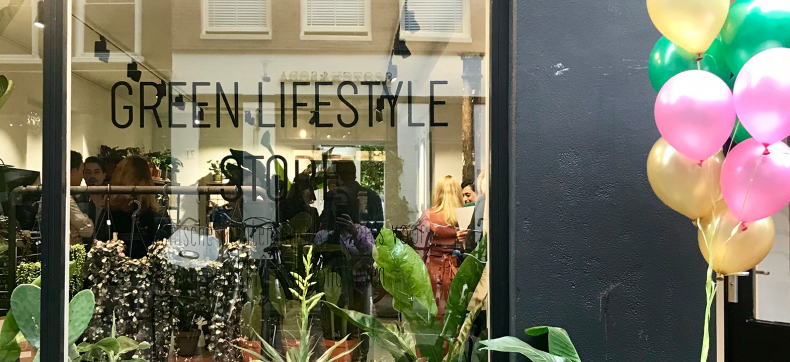 Green Lifestyle Store opent pop-up in de Amsterdamse Pijp