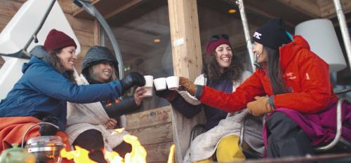 In voor wat #GirlPowder? Check deze wintersport experience