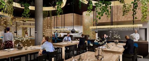 ZA Amsterdam hét upclass restaurant in de Houthavens