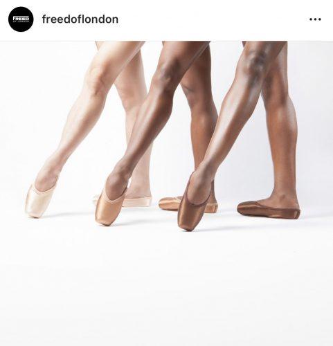 Balletwereld donkere spitzen