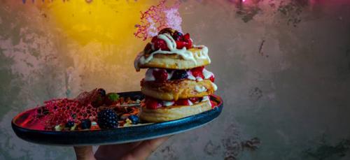 Mr. Stacks, een waar (vegan) pancakewalhalla