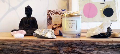 Mindful cadeau: bewust ruiken met geurkaarsen van AERIN