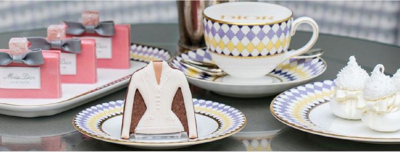 Dit wil je: een Dior high-tea in Londen