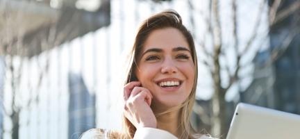 Optimistische mensen worden gezond ouder
