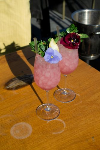 Cocktails MR PORTER Amsterdam