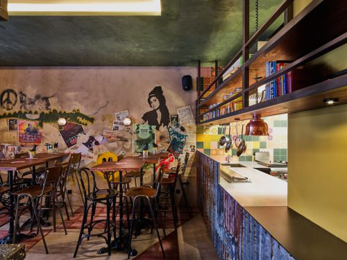 Street food restaurant Bardak Amsterdam