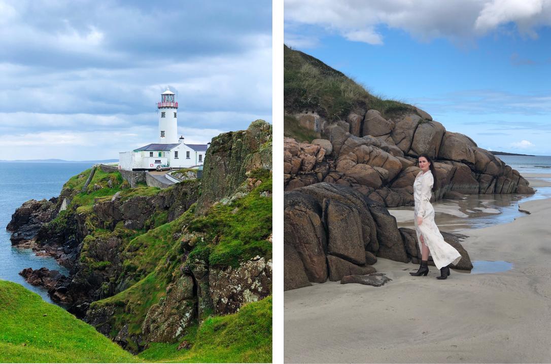 Fanad Lighthouse en Carrickfinn Beach