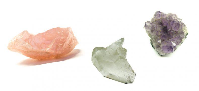 3 kristallen die je op je bureau wilt hebben