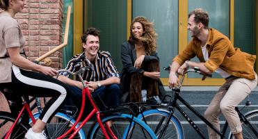 Swapfiets: Het fietsmerk met de blauwe band
