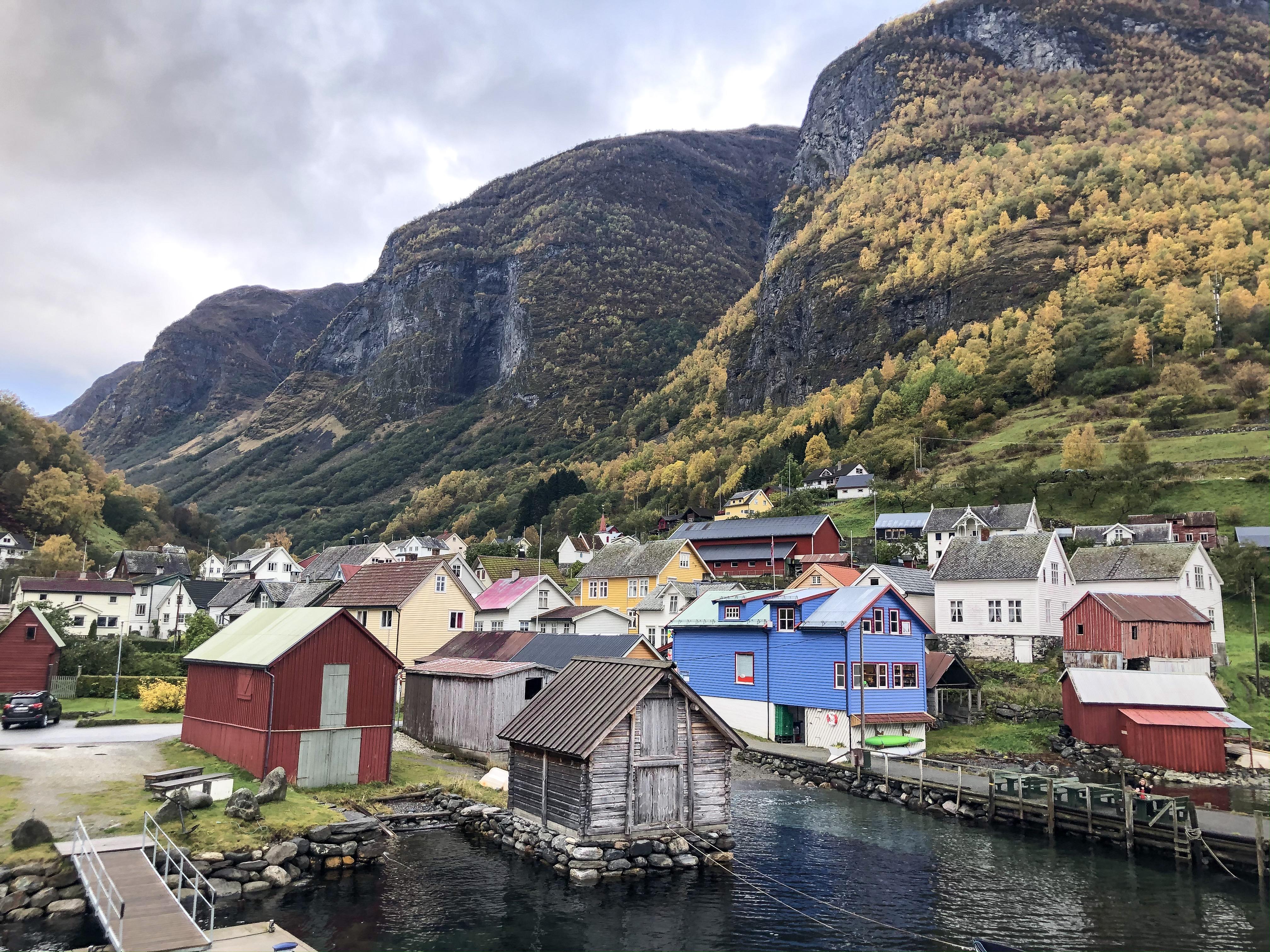 Nærøyfjord noorwegen