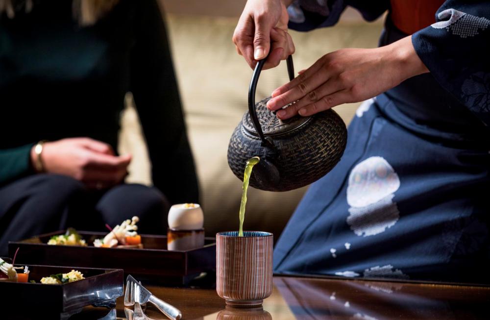 afternoon tea okura