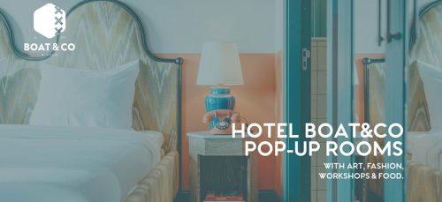 BOAT&CO pop-up housewarming, en jij kan erbij zijn!