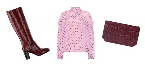 Look du jour: beautiful burgundy