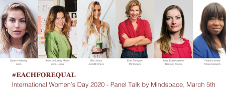 Mindspace presenteert Women's Day Panel met international po...