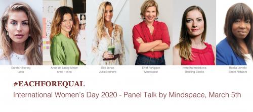 Mindspace presenteert Women's Day Panel met international po...