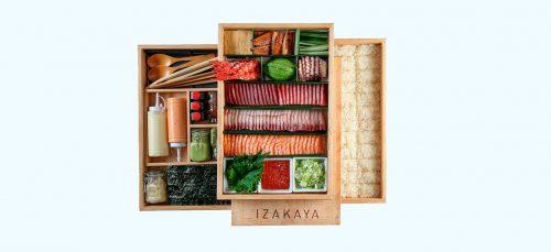 IZAKAYA take-away voor een luxe diner waar je maar wilt