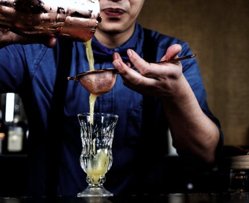 Thuis cocktails shaken