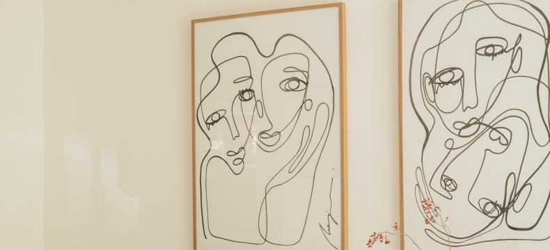 Klim op je vouwladder en geef kunst een mooie plek in huis
