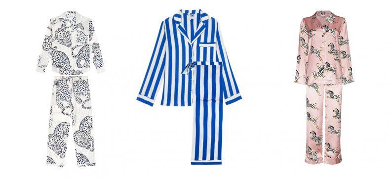 Pretty pyjamas om thuis de hele dag in te vertoeven