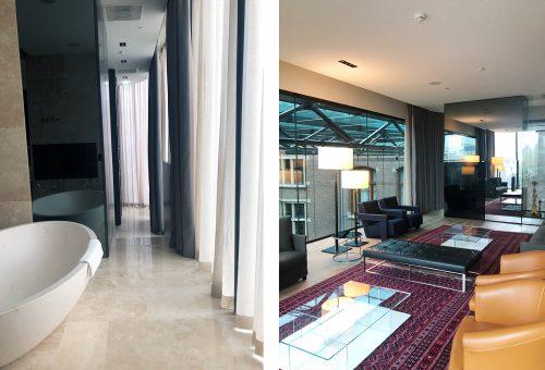 Penthouse suite conservatorium hotel