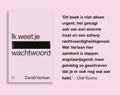 boek cybercriminaliteit 'Ik weet je wachtwoord'