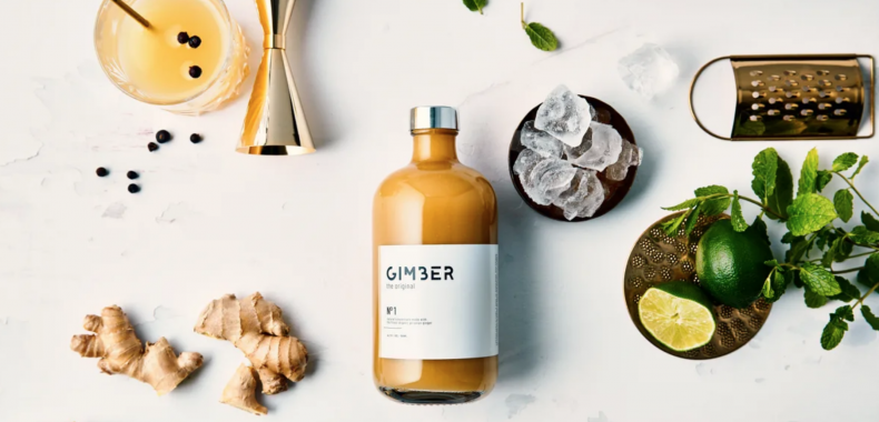GIMBER: een drankje met gember to spice up your borrel