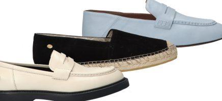 Platte schoenen die beeldig zijn