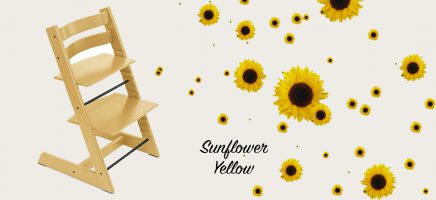 Nieuwe kleur voor de Stokke Tripp Trapp: Sunflower yellow