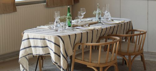 Zo dek je je tafel perfect volgens Lynn van der Vorst